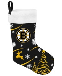 Forever Collectibles Boston Bruins Team Stocking Black