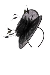 Coast Jeanne Fascinator Black