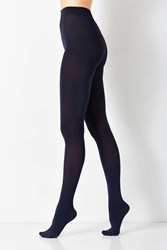 Urban Outfitters 80 Denier Basic Opaque Tight Navy
