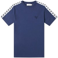 Coach Rexy Taped Tee Blue