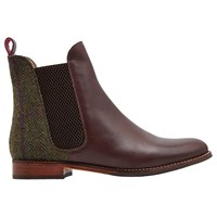 Joules Westbourne Leather Chelsea Boots Brown