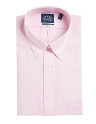 Eagle Go Long Sleeve Solid Dress Shirt With Stretch Collar Blush