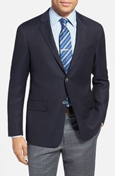 Todd Snyder Trim Fit Wool Blazer Navy