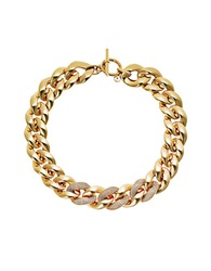 Michael Kors Golden Chain Toggle Necklace