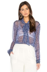 Sam And Lavi Orion Top Blue