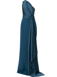 Solace London Mara One Shoulder Gown 60