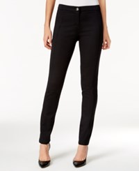 Styleandco. Style Co. Petite Stretch Slim Leg Pants Only At Macy's Deep Black
