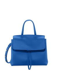 Mansur Gavriel Vegetable Tanned Leather Mini Lady Bag Royal Royal