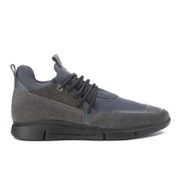 Android Homme Men's Runyon Caviar Neoprene Trainers Grey