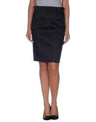 Fay Knee Length Skirts Black