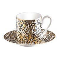 Roberto Cavalli Camouflage Coffee Cup And Saucer