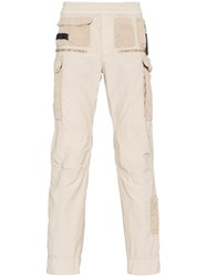Alyx Multi Pocket Straight Trousers Nude And Neutrals