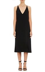 Nicholas Women's Ponte Knit V Neck Dress Black