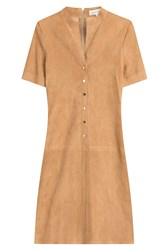 Jitrois Suede Dress Camel