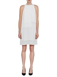 French Connection Cornell Solid Shift Dress Summer White