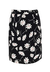 Hallhuber Floral Print Skirt Multi Coloured Multi Coloured