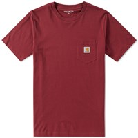 Carhartt Pocket Tee Burgundy