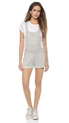 Rachel Pally Hugh Overall Shorts Grey