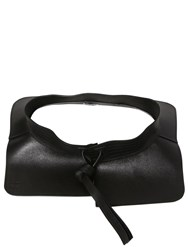 Loewe High Waist Leather Belt Black