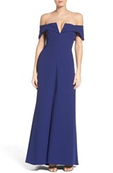 Bcbgmaxazria Women's Tbd Off The Shoulder Gown