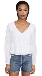 Bb Dakota Jack By All Eyelets On You Top Optic White
