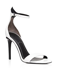 Kendall And Kylie Elin Ankle Strap High Heel Sandals 100 Bloomingdale's Exclusive White