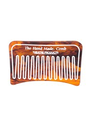 Theatre Products Comb Print Hairclip Women Acrylic One Size Brown