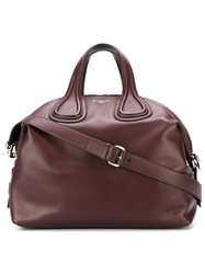 Givenchy Medium 'Nightingale' Tote Red