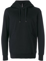 Attachment Classic Sporty Hoodie Black