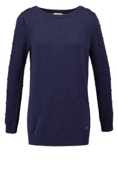 Bellfield Spotid Jumper Navy Dark Blue
