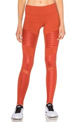Alo Yoga Moto Legging Orange