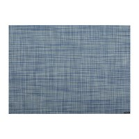 Chilewich Mini Basketweave Rectangle Placemat Chambray
