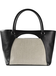 J.W.Anderson J.W. Anderson Cut Out Detail Tote Bag Black