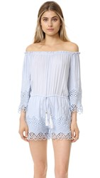 Young Fabulous And Broke Sloan Romper Chambray