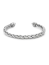 Lois Hill Sterling Silver Cord Cuff Bracelet No Color