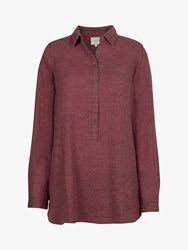 Fat Face Tilly Longline Shirt Rose Ash