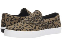 Diamond Supply Co. Boo J Cheeta Slip On Shoes Brown
