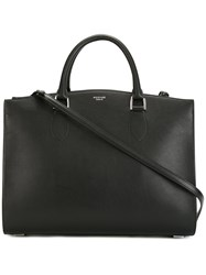 Rochas Plain Tote Bag Black