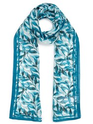 Eastex Watercolour Leaf Scarf