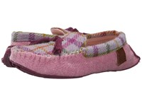 Bedroom Athletics Zara Lilac Pink Check Women's Slippers