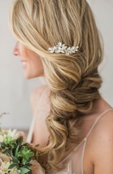 Brides And Hairpins Abril Comb Classic Silver