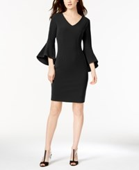 Inc International Concepts Bell Sleeve Dress Created For Macy's Black