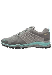 The North Face Ultra Fastpack Ii Gtx Walking Shoes Moon Mist Grey Agate Green