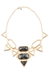 Isharya Croc Statement Necklace