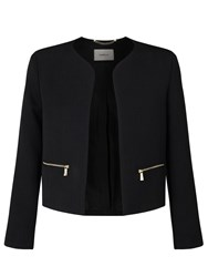 Marella Goletta Cropped Jacket Black