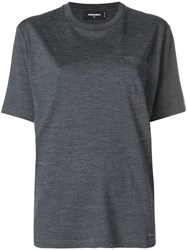 Dsquared2 Loose Fit T Shirt Grey