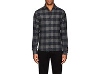 Iro Calfo Cotton Flannel Shirt Gray