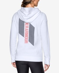 Under Armour Favorite Fleece Hoodie White Pomegranate