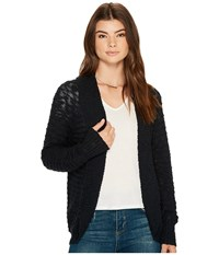 Roxy Let's Go Anywhere Cardigan Anthracite Sweater Pewter