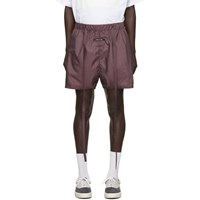 Fear Of God Burgundy Military Physical Training Shorts